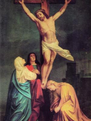 Image du tableau miraculeux de la Crucifixion
