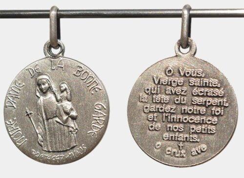 Médaille de Notre-Dame de la Bonne Garde en argent
