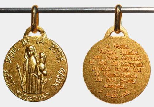 Médaille de Notre-Dame de la Bonne Garde en or