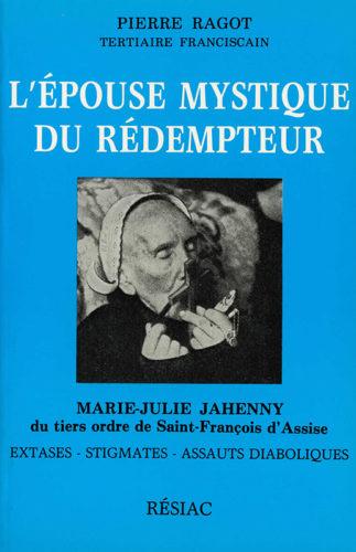 Couverture du livre L'épouse mystique du Rédempteur écrit par Pierre Ragot