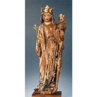 Image de la Statue Notre-Dame de la Bonne Garde confié à la garde de Marie Julie